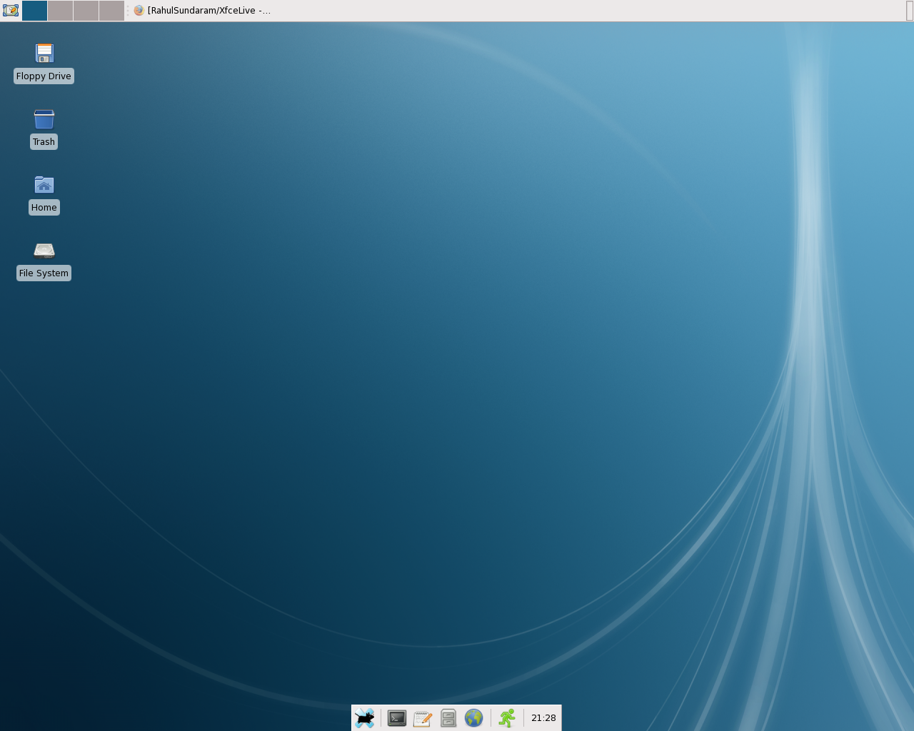 Rawhide Xfce Screenshot